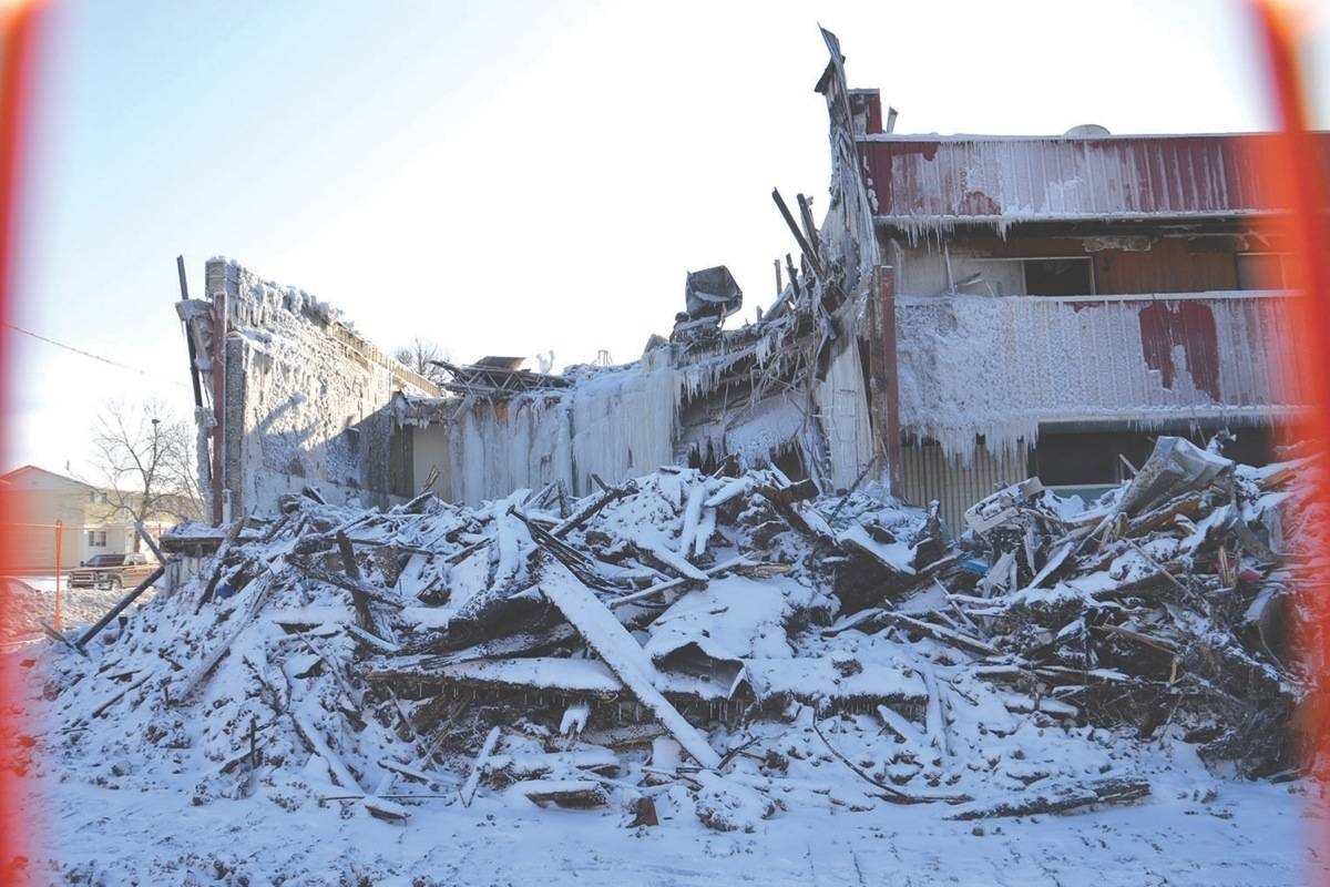 UPDATE Human remains found in Manny's Motel ruins