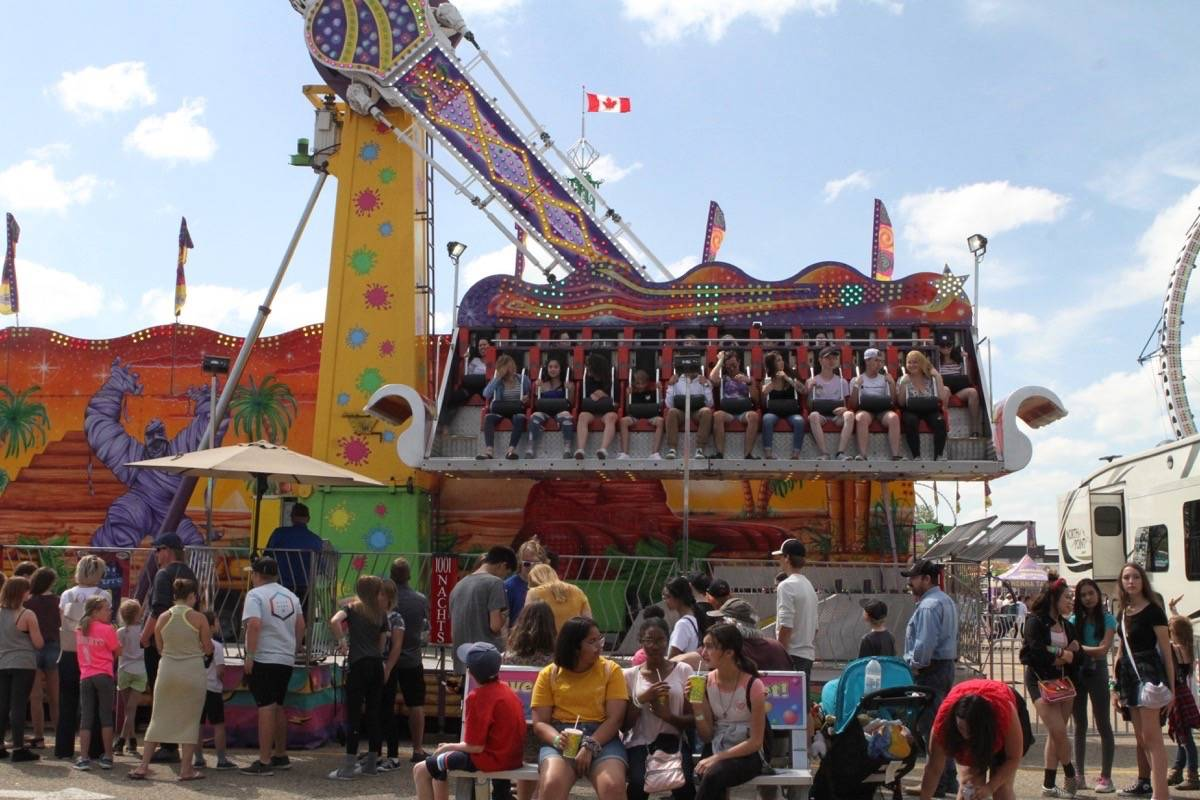 File photo by ADVOCATE staff                                Westerner Days' cancellation came following the province's direction that bans on large gatherings of people are expected to continue through the summer.