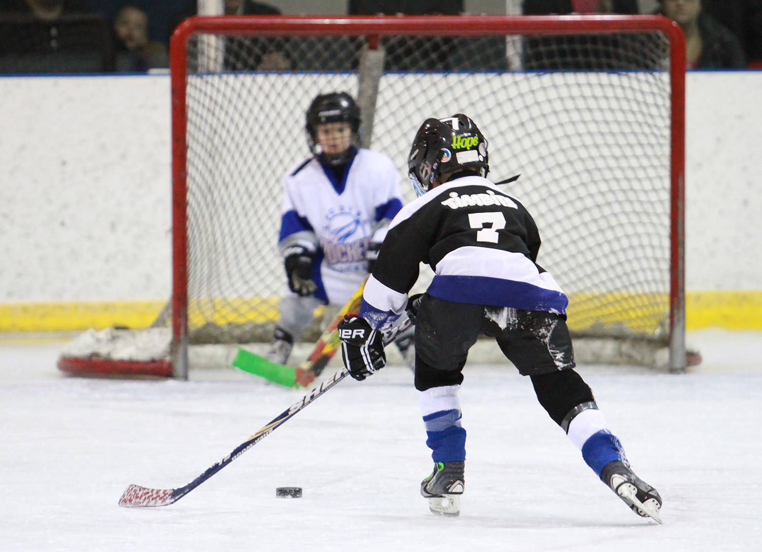 Minor hockey in Ponoka has started for many of the teams with practices and pre-season games for some of the older teams having been played this past weekend. File photo